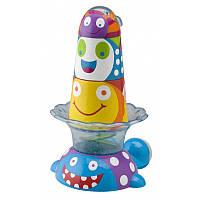 Игрушка-пирамидка для ванны китенок и друзья ALEX