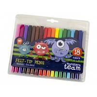 "Фломастеры  18 цветов  ""Yes"" Monsters 650232"
