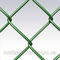 Сетка рабица оц/пвх 60х60х1,65/2,5(1,2х10), фото 1