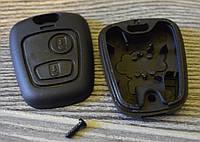 Корпус ключа PEUGEOT/CITROEN, фото 1