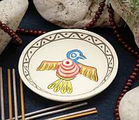 """Подставка круглая для ароматических палочек """"Eagle"""", белая"""