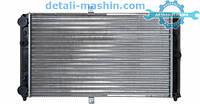 Радиатор водяного охлаждения ВАЗ 2110, 2111, 2112 карбюратор (TEMPEST)