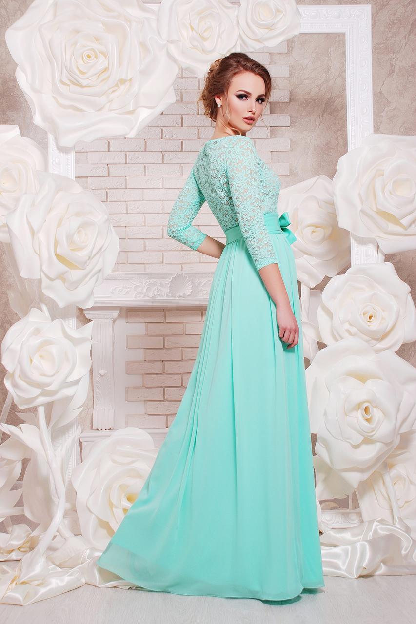 101a134f42a Длинное вечернее платье на выпускной темно-синее купить в интернет ...