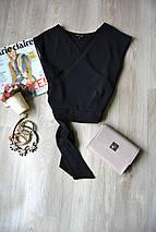 Кроп-топ на запАх с узлом New Look, фото 2