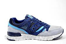 Женские кроссовки Saucony Grid SD, Gray\Blue, фото 3