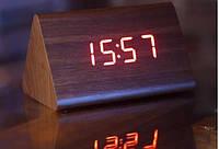 Часы сетевые 861-1 красные