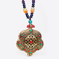 Тибетский Амулет Большого Богатства ( с аромадиффузором), фото 1