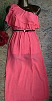 Платье+пояс Афродита 13409 корал