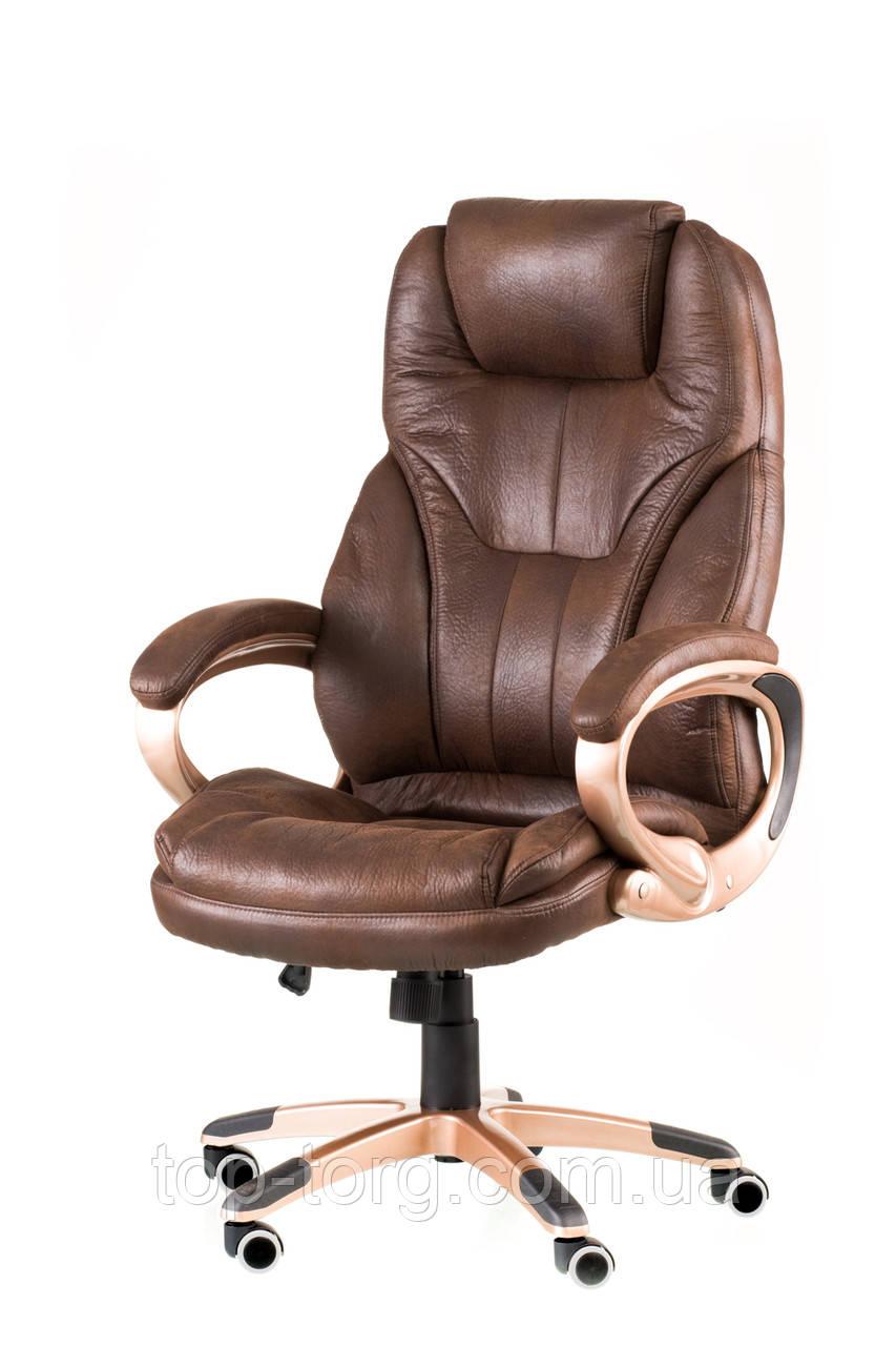 Кресло Bayron темно-коричневое, dark brown, офисное, компьютерное