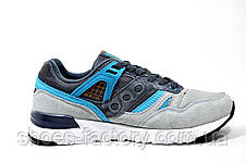 Женские кроссовки в стиле Saucony Grid SD, Gray\Turquoise, фото 3