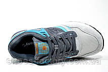 Женские кроссовки в стиле Saucony Grid SD, Gray\Turquoise, фото 2