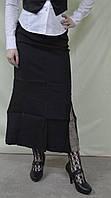 Юбка женская классическая длинная