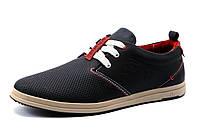 Спортивные туфли Levi's, мужские, натуральная кожа, черные, р. 40 42 43