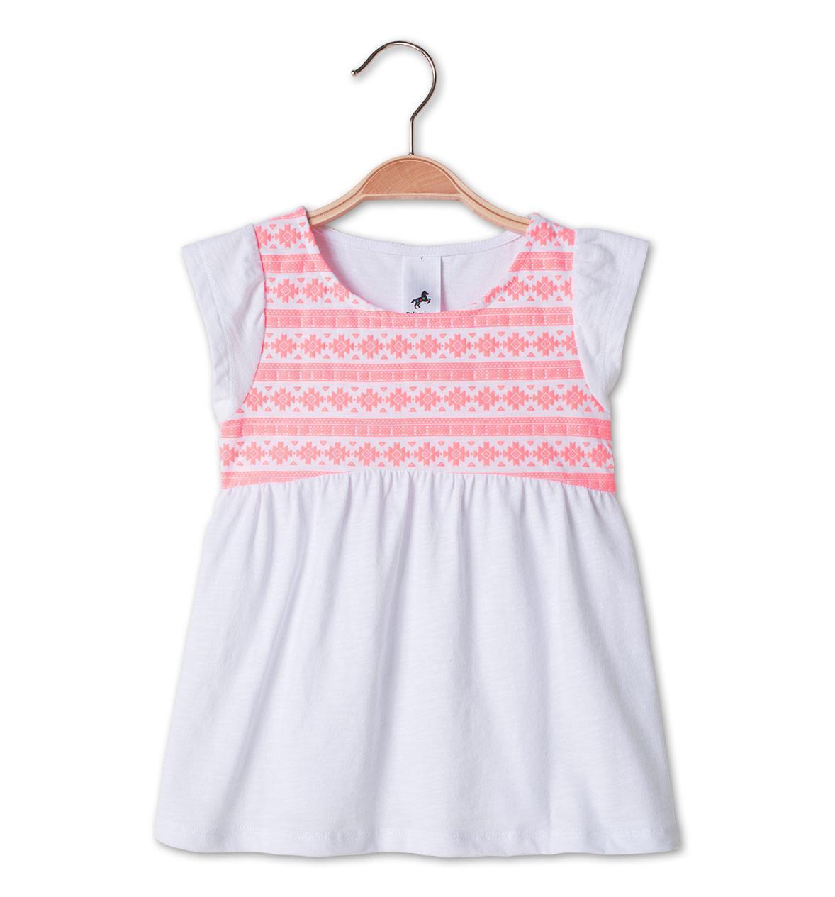 Біла футболка на дівчинку 4-5 років C&A Німеччина Розмір 110