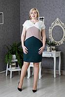 Летнее женское платье модного фасона