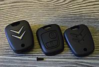 Корпус ключа Citroen, фото 1