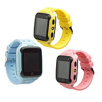 Детские умные часы телефон трекер Smart Baby Watch G100(Q65) сенсорный экран, фонарик, камера