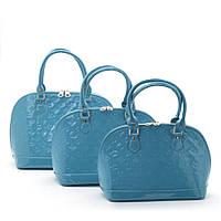 Женская сумка  (набор 3в1) 201071 blue