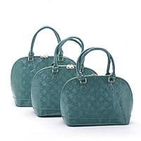 Женская сумка  (набор 3в1) 201071 green
