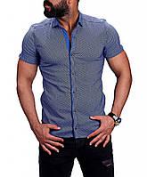 """Рубашка цвета """"електрик"""", фото 1"""