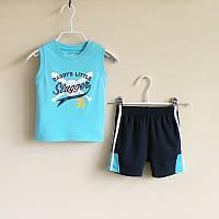 Детский комплект майка и шорты для мальчика.