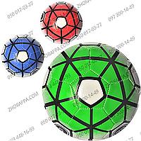 Мяч футбольный EN 3244, размер 5, ПВХ 1,6 мм, вес 300-320 грамм, 3 цвета, подарите радость ребенку, отдых