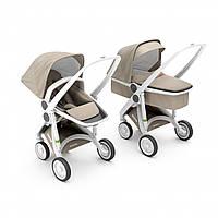 Greentom - Детская коляска Upp 2 в 1, цвет Sand - белое шасси