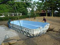 Установка композитной чаши бассейна Кривой Рог