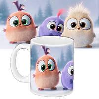 Детская чашка с принтом Angry Birds