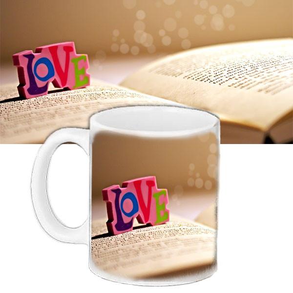 Чашка подарок с рисунком Любовь