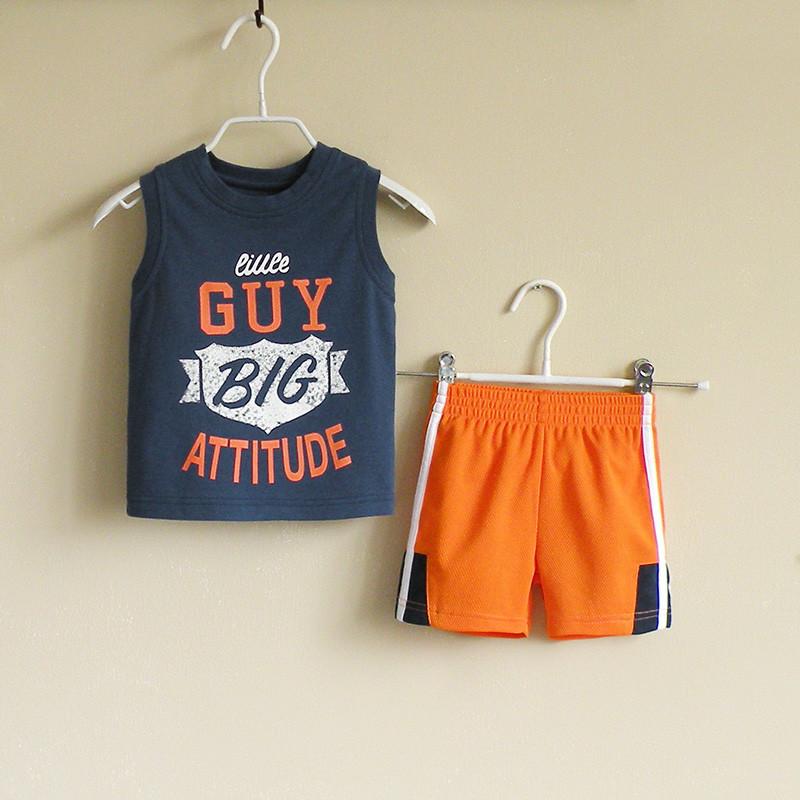 Майка и шорты для мальчика