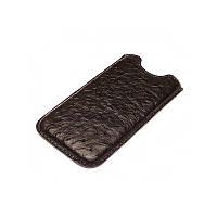 Кожаный чехол для iPhone 6/iPhone 6s изготовленный из кожи лапы страуса