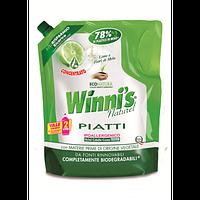 WINNI'S Эко концентрированное средвство для мытья посуды  Лимон 1л, арт.062550