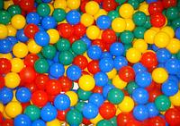 Шарики 100 штук для сухого бассейна, диаметр 8см (Украина)