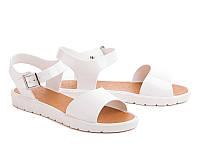 Супер хит! силиконовые женские сандалии Цвет белый Размеры 39, 40