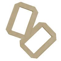 Кольца картонные для баночного воскоплава 50 шт