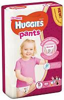 Подгузники-трусики Huggies Pants для девочек 5 (12-17 кг), 44 шт.