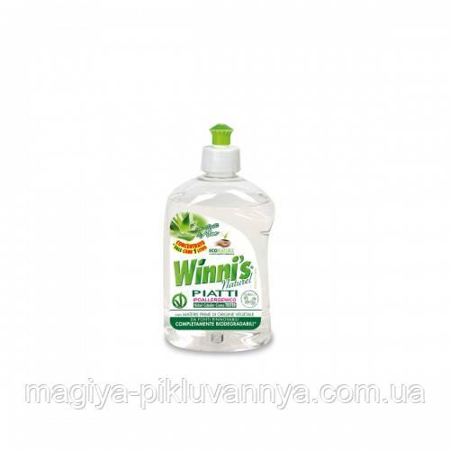 WINNI'S Эко Концентрированное средство для мытья посуды Алое 500 мл, арт.060785