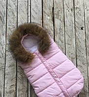 Конверт для новорожденного Дутик Snowman Pinck