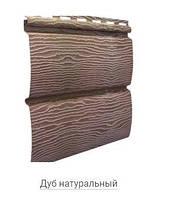 Фасадный сайдинг виниловый Тимбер-Блок Дуб натуральный