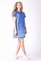 Женское джинсовое платье Ф-5