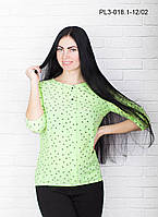 Женская блуза на лето цвет лимон размер 44-54