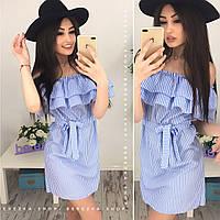 Хлопковое платье 13896