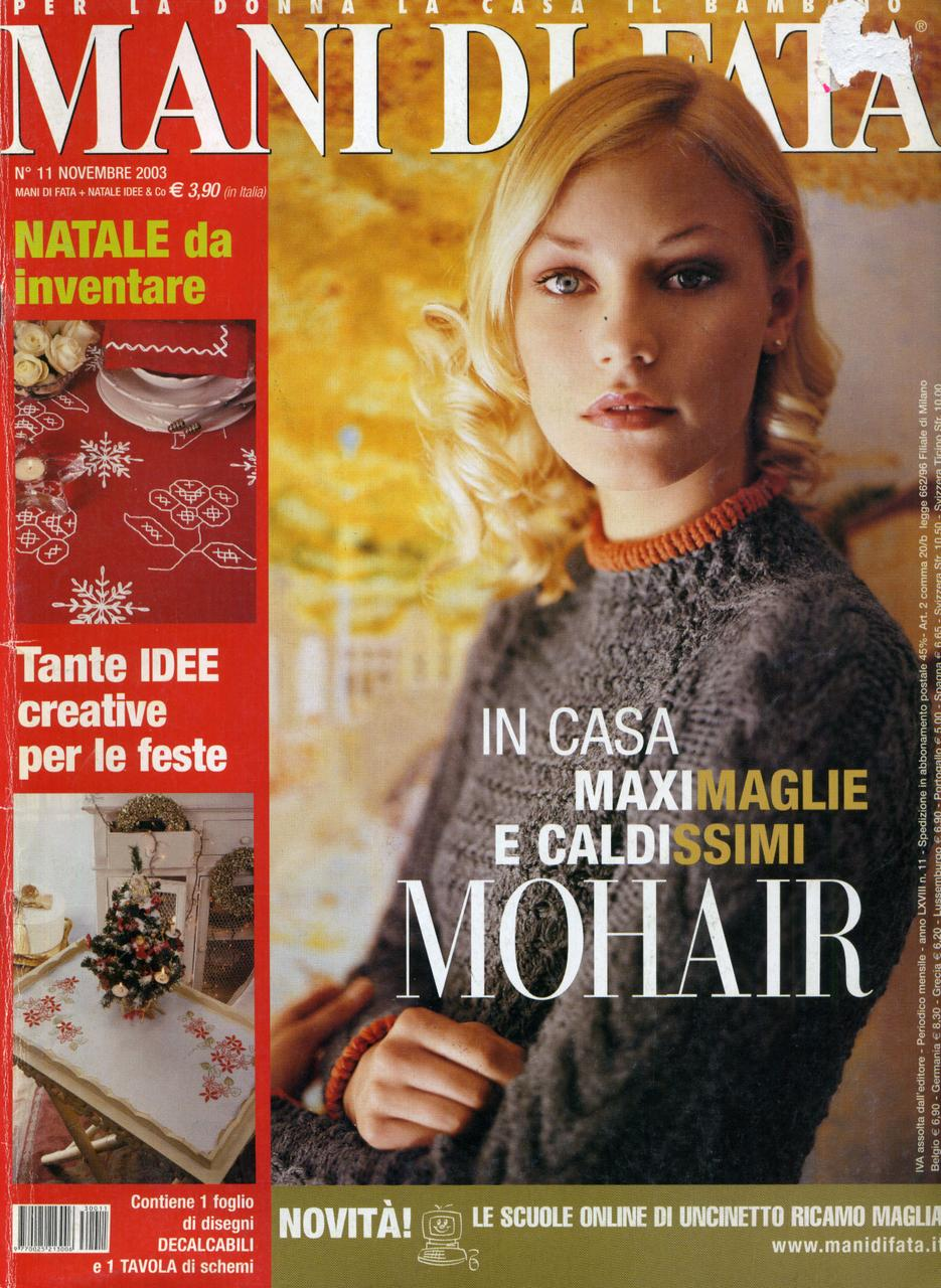 "Журнал по рукоделию ""MANI DI FATA""  ноябрь 2003"