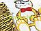 """Комплект для новорожденного """"Тигренок"""" (бодик+ползунки+шапочка) 68 р, фото 2"""