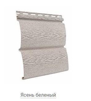 Сайдинг Тімбер-Блок Ясен білий