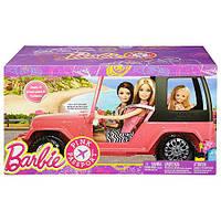 Автомобиль внедорожник Барби для сестер Barbie Pink Passport Sisters Cruiser DXH30, фото 1