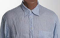 GIORGIO ARMANI рубашка 100% ЛЕН размер М  ПОГ 56 см б/у