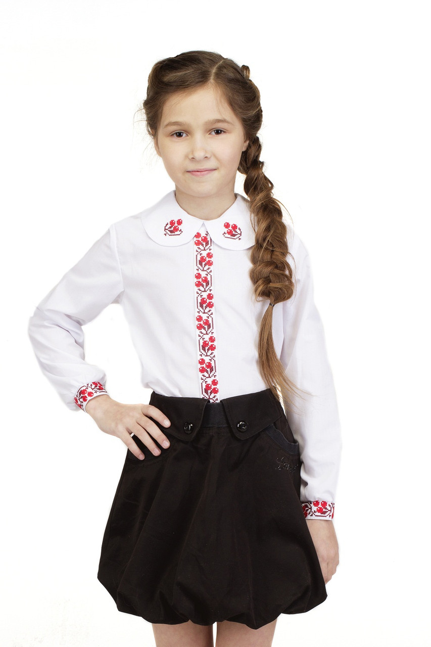 Вышиванка для девочки Калинонька
