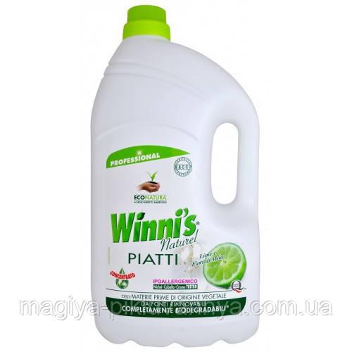 WINNI'S Средство для мытья посуды Лимон 5000 мл, арт.062529